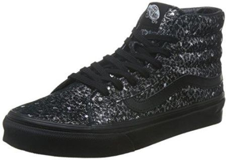 promo code 820e9 2bc28 Amazon Vans Sk8-Hi Slim wysokie buty sportowe, uniseks - czarny -