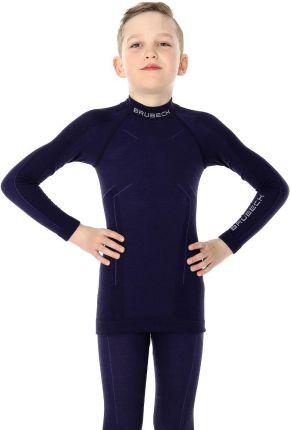 5fb3dd17a2dd63 Brubeck Bluzka Termoaktywna Chłopięca Z Długim Rękawem Active Wool Junior
