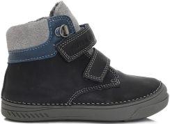 D D step zimowe buty chłopięce 30 czarny | MALL.PL