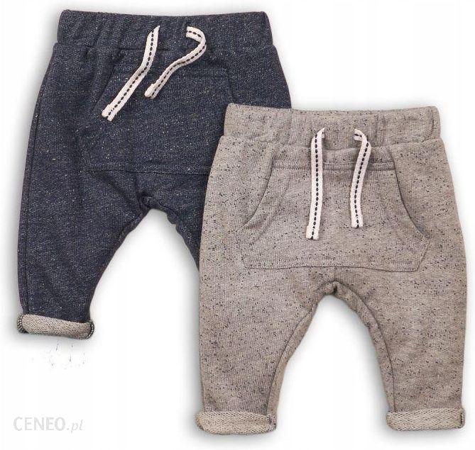 Spodnie dresowe dla niemowlaka 2 pary *6874 cm Ceny i opinie Ceneo.pl