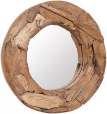 Lustra Okrągłe Z Oświetleniem Drewniane Lub Chromowane