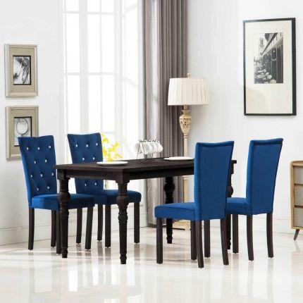 Granatowe Krzesła Ceneopl