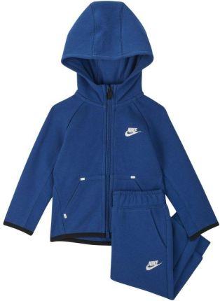c13a4d9fe5e9b Dwuczęściowy zestaw dla niemowląt (12-24 M) Nike Sportswear Tech Fleece -  Niebieski ...