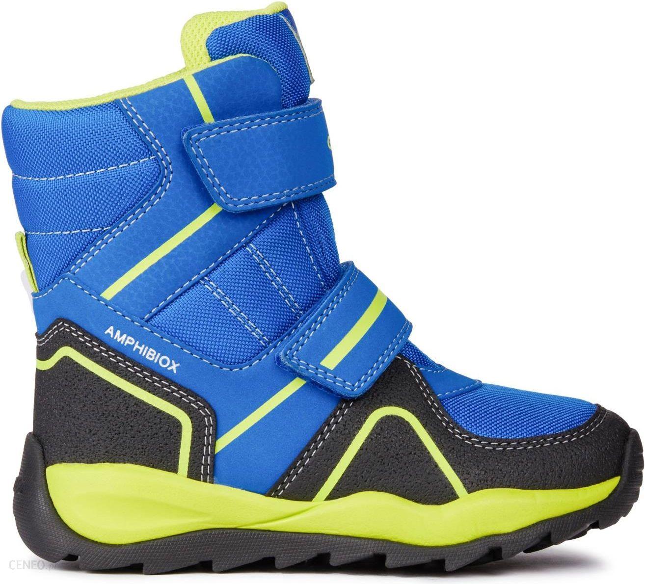 391d1d92 Geox buty zimowe za kostkę chłopięce Orizont 28 niebieski, - zdjęcie 1