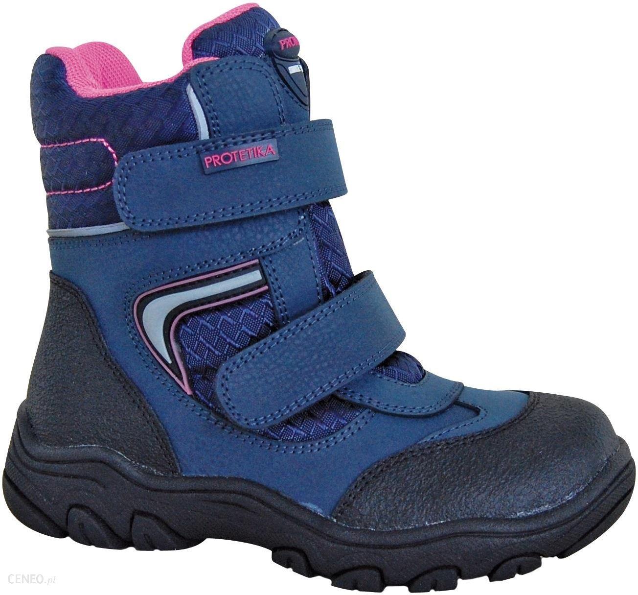 30791f080ba55 Protetika buty zimowe za kostkę dziewczęce Nordika 31