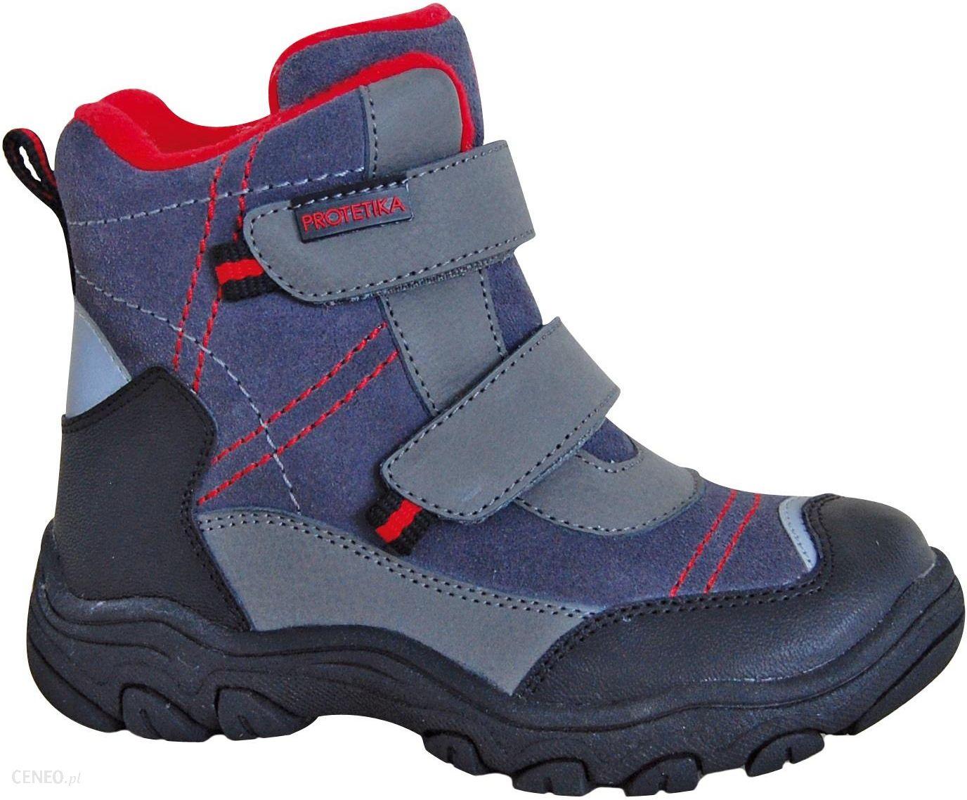 5e605258e034d Protetika buty zimowe za kostkę chłopięce Hant 31