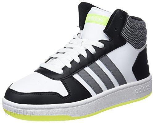 96180d7ba9072 Amazon Adidas uniseks – dzieci VS Hoops Mid 2.0 wysoka Sneaker - biały - 38  2/3 EU