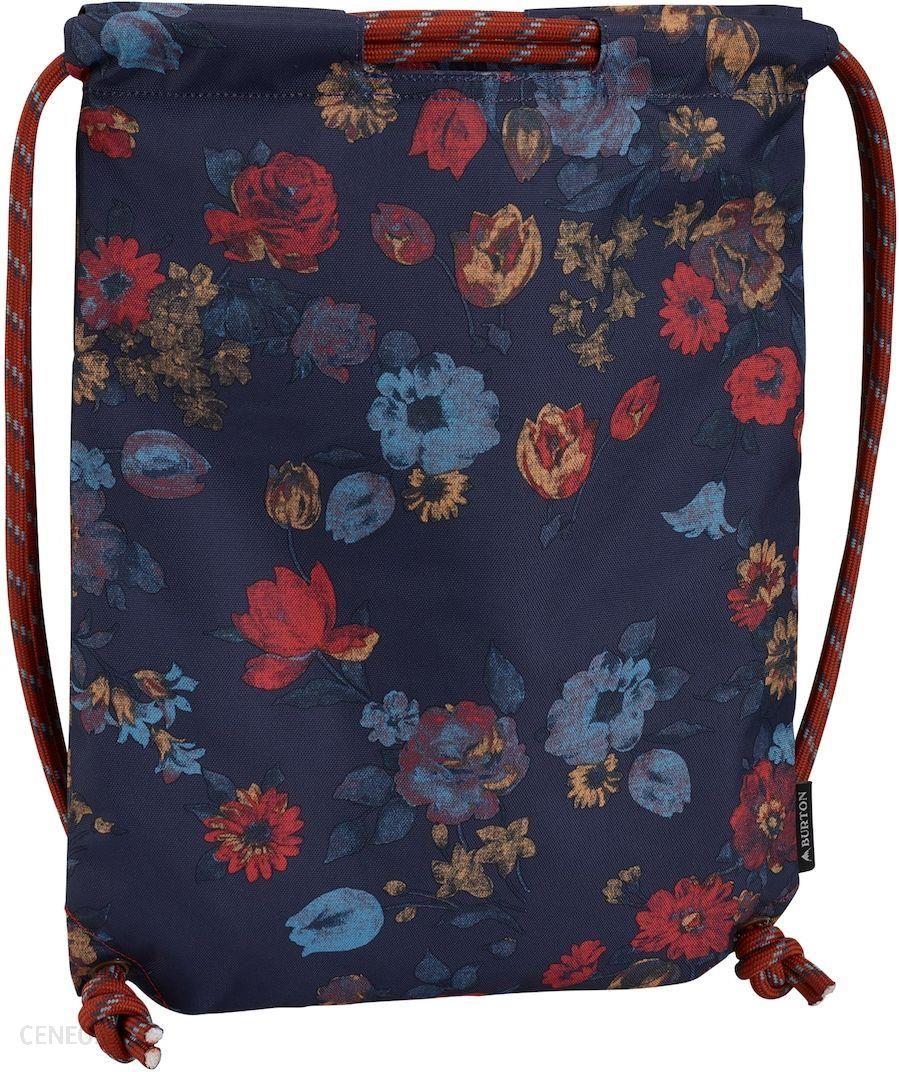 b5eb3d852994d Worek sportowy BURTON CINCH BAG Mood Indigo Wild Flowers - Ceny i ...