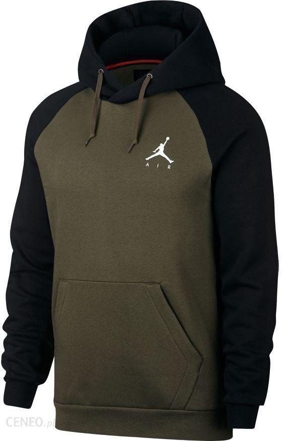 Bluza męska Jordan Jumpman Air Nike Air Jordan (zielono czarna) WYSYŁKA 12h Tanie RATY Ceny i opinie Ceneo.pl