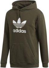53ff362f6 Bluza męska adidas Trefoil Hoody zielona DT7970 - Ceny i opinie ...