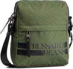 6720d59da4d90 Saszetka TRUSSARDI JEANS - Turati Free 71B00142 Green Black G150 eobuwie