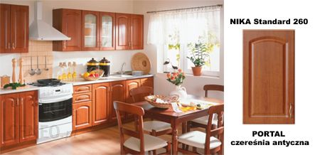 Black Red White Kuchnia Nika Standard 260 Portal Czeresnia Antyczna Opinie I Atrakcyjne Ceny Na Ceneo Pl