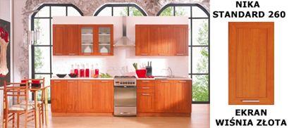 Black Red White Kuchnia Nika Standard 260 Ekran Wisnia Zlota Opinie I Atrakcyjne Ceny Na Ceneo Pl