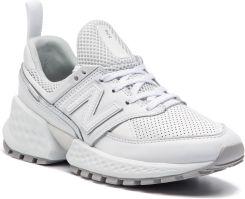 4e334fb39aa4ad Sneakersy NEW BALANCE - WS574FSC Biały eobuwie