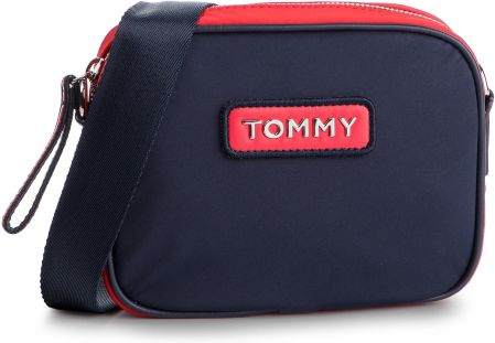 17d3cf60e1826 Torebka TOMMY JEANS - Varsity Nlyon Crossover AW0AW06296 901 eobuwie
