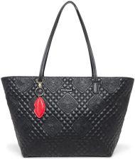 f89cdd469ed80 Desigual czarna torebka Bols Claudia Capri Zipper z haftem
