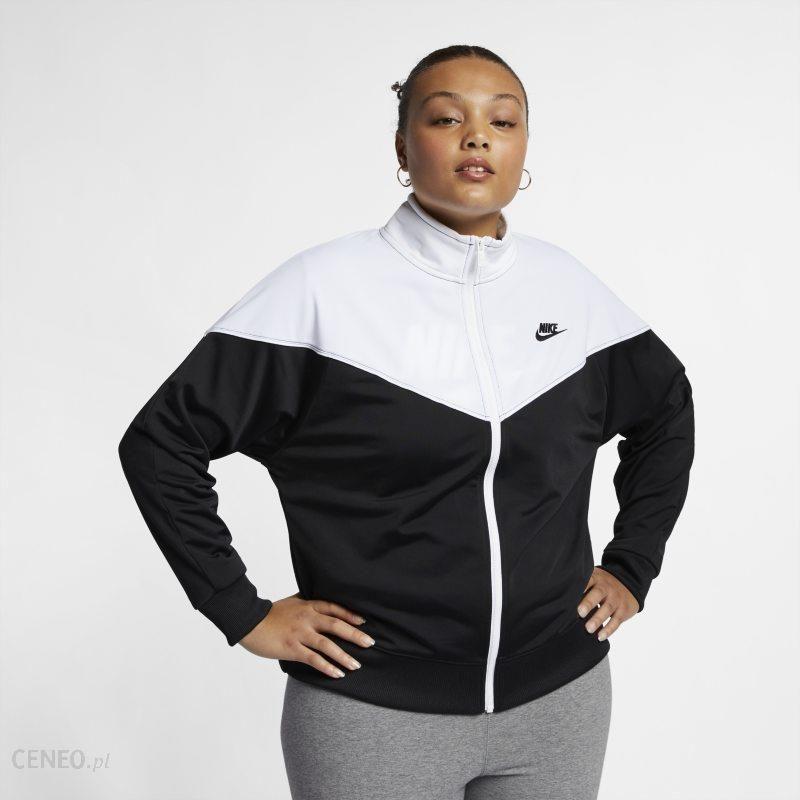 2f55065bb Damska bluza dresowa Nike Sportswear Heritage (duże rozmiary) - Czerń -  zdjęcie 1