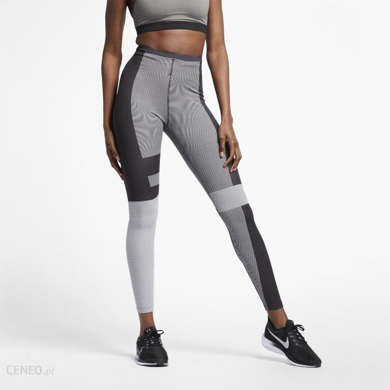 13d4fb3d8d7973 Damskie legginsy do biegania Nike Tech - Szary - Ceny i opinie ...