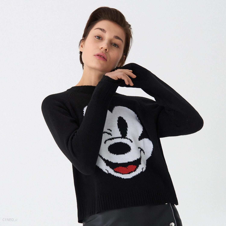 House Pikowana kurtka Mickey Mouse Czarny Ceny i opinie Ceneo.pl