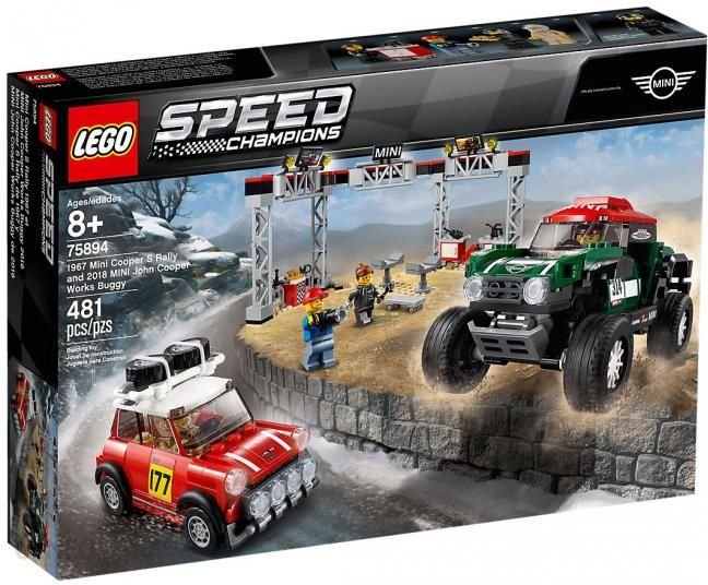 Klocki Lego Speed Champions Mini Cooper Rally Mini John Cooper