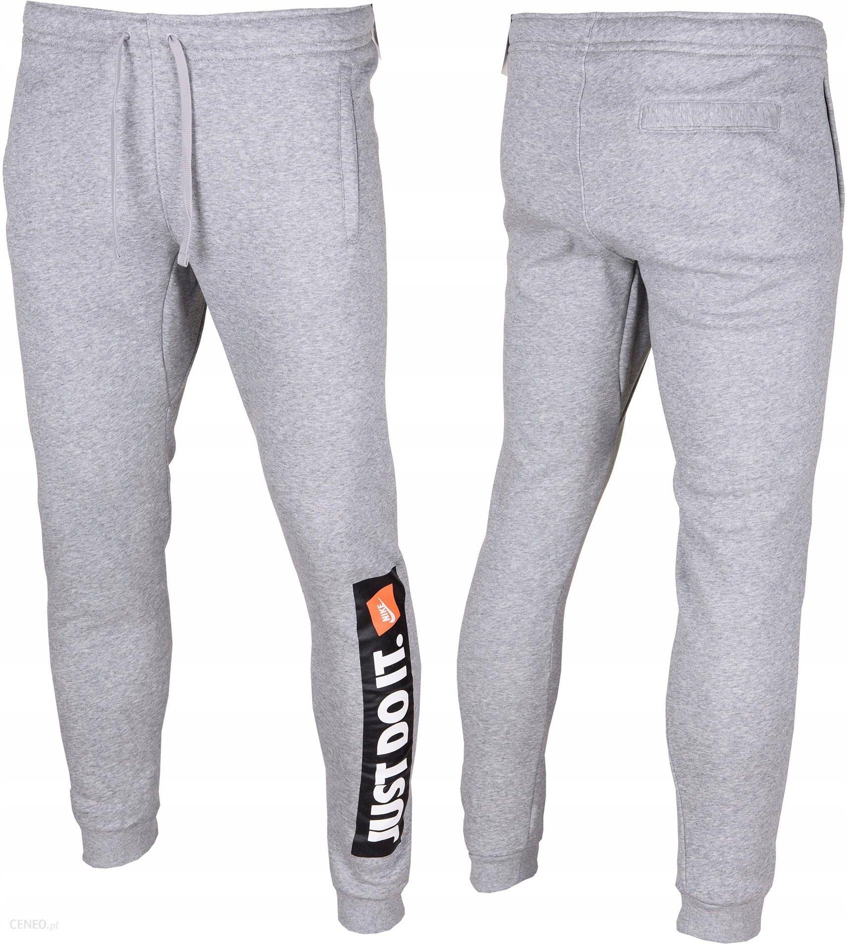 Nike spodnie dresowe męskie JUST DO IT roz.S Ceny i opinie Ceneo.pl