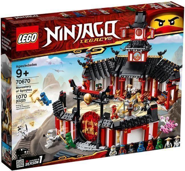 Klocki Lego Ninjago Klasztor Spinjitzu 70670 Ceny I Opinie Ceneopl