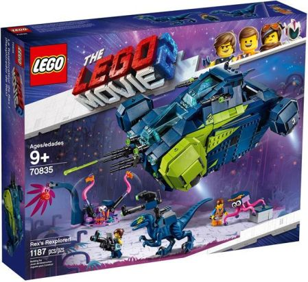 Lego 70835 Movie 2 Rexplorer Rexa ceny i opinie Ceneo.pl