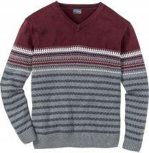 a6acc58a51678f Sweter w graficzny wzór z szary 44/46 (S) 924796 - Ceny i opinie ...