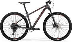 "Merida Big.Nine 600 matt dark silver (black red) 29"" 2019"