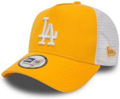 e5a8e036a485e Guess New Era Los Angeles Dodgers MLB 9FORTY League Womens Essential  Trucker Cap - Gold/