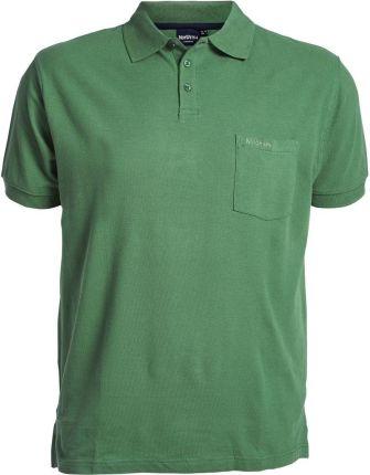 Koszulka polo zielona NORTH 56°4 - Ceny i opinie T-shirty i koszulki męskie LKHB