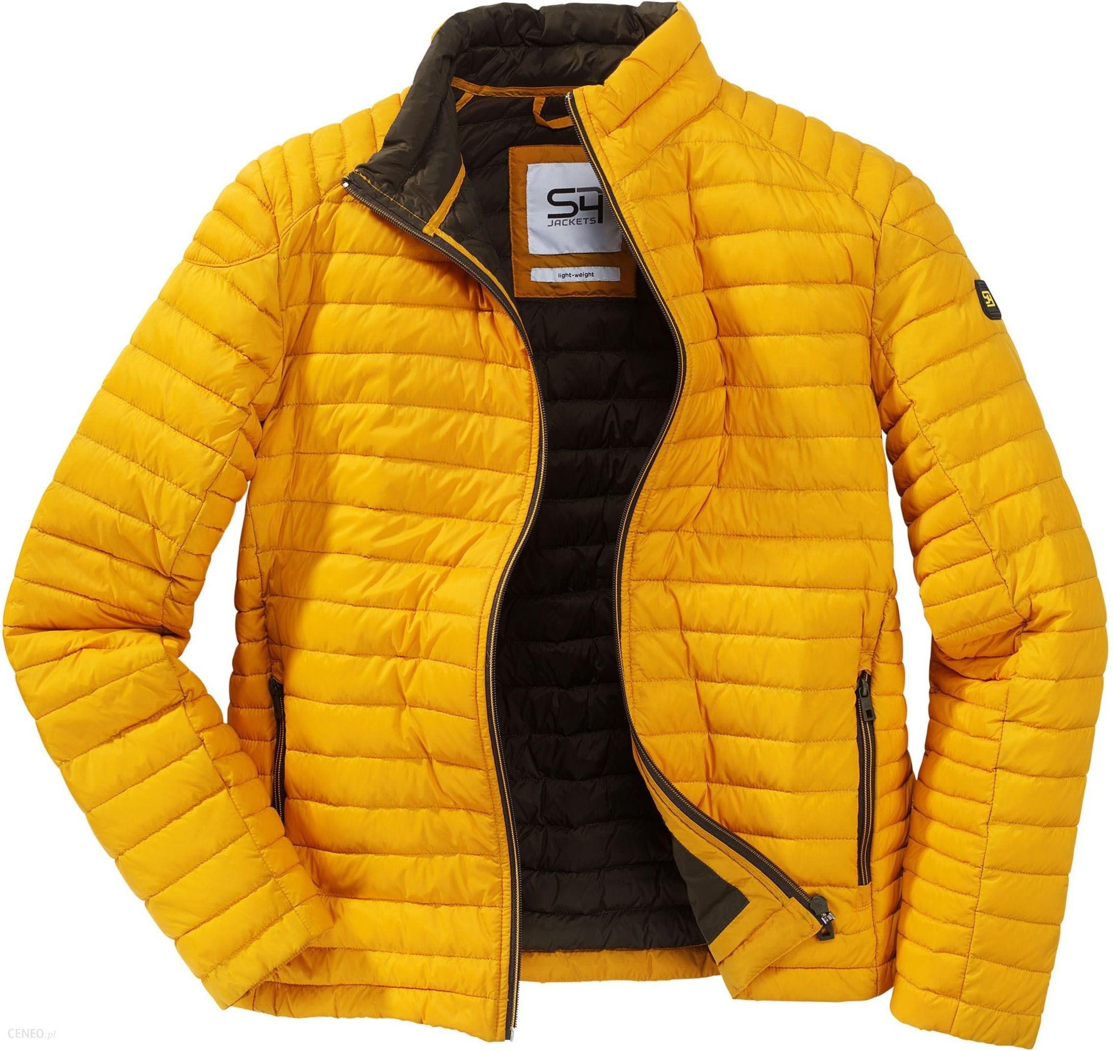 przybywa kody promocyjne wyprzedaż ze zniżką Lekka kurtka puchowa S4 MADBOY żółta