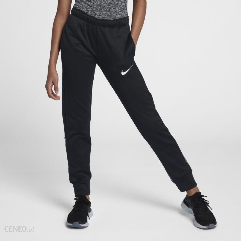 8a21bc445 Spodnie treningowe dla dużych dzieci (dziewcząt) Nike Therma - Czerń -  zdjęcie 1