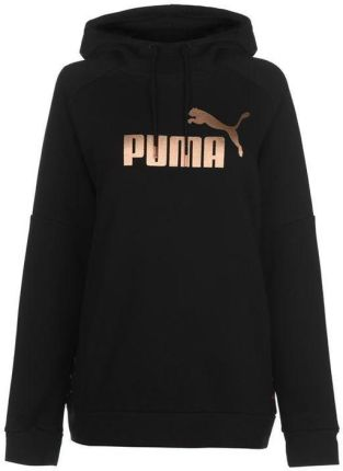 e45f583e6 Puma Tape, bluza z kapturem damska, czarna, Rozmiar XS