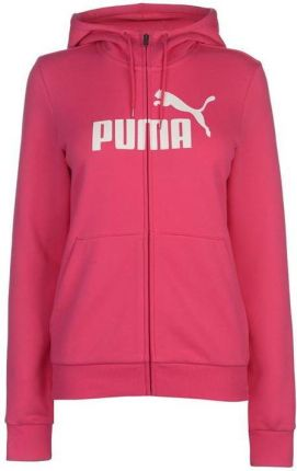 e070ee6faa81a Puma No1 Logo, bluza z kapturem na zamek damska, różowa, Rozmiar XS
