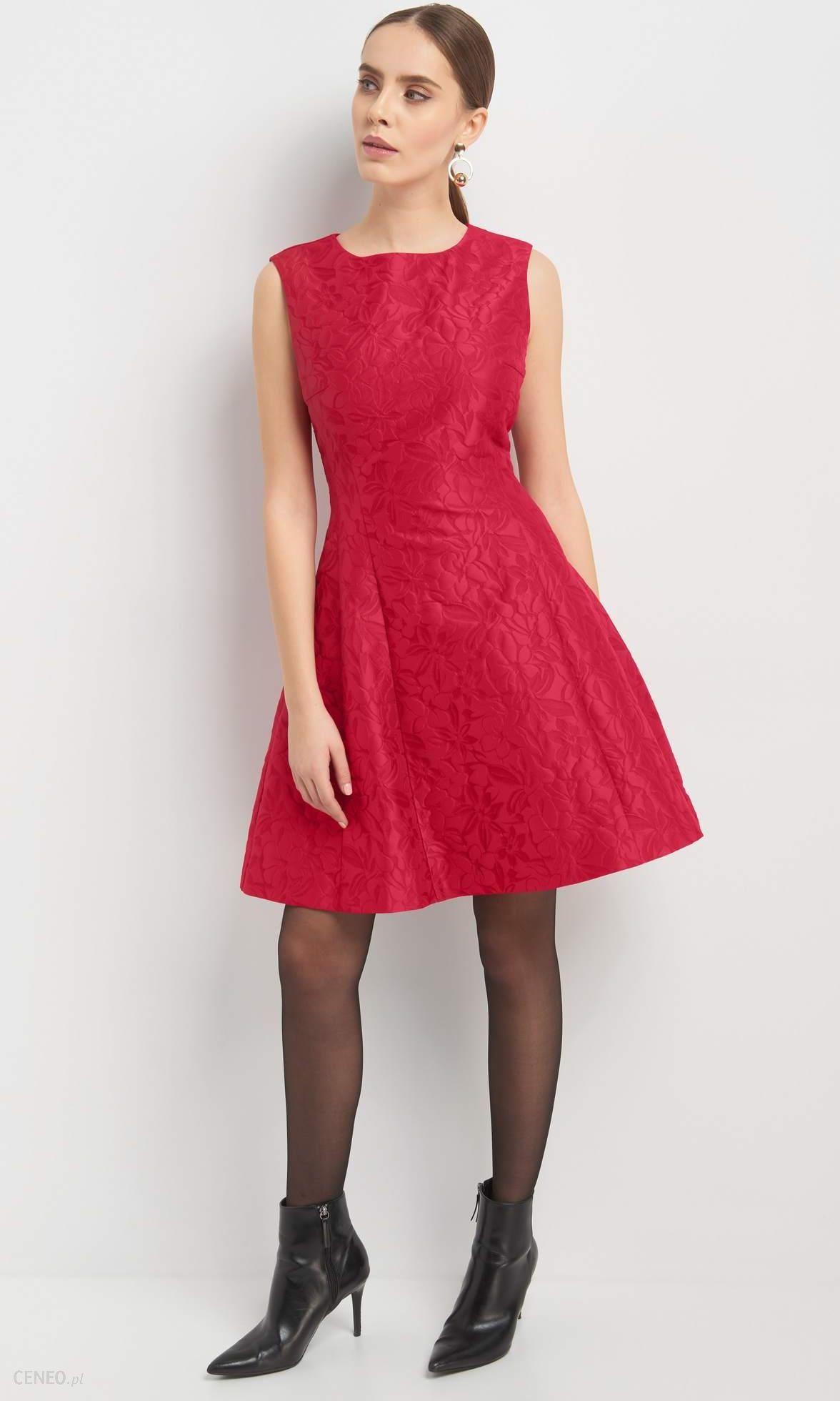 d95d2874 ORSAY Żakardowa sukienka