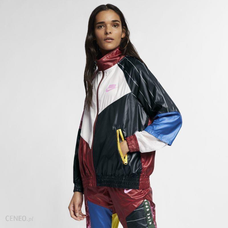 4f23d57b6 Damska bluza dresowa z tkaniny Nike Sportswear NSW - Czerwony - zdjęcie 1
