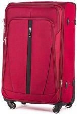 723550e18ad08 Duża walizka miękka L Solier STL1706 czerwony vaaco.pl