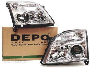 Lampa Przednia Depo Reflektory Lampy Przód Opel Vectra C Chrom 4421129lldem1 4421129rldem1 Opinie I Ceny Na Ceneopl