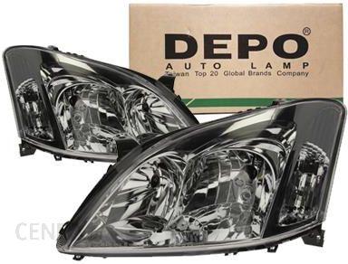 Depo Reflektory Lampy Przód Toyota Corolla E12 21211d1lldem 21211d1rldem