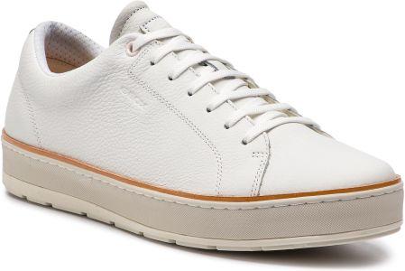 0059997510270 Sneakersy GEOX - U Ariam C U925QC 00046 C1000 White eobuwie