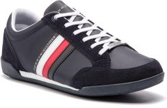 45aae62dc8c5b Sneakersy TOMMY HILFIGER - Corporate Material Mix Cupsole FM0FM02046  Midnight 403 eobuwie