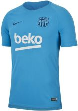 Nike Męska Koszulka Piłkarska Fc Barcelona Breathe Squad Niebieski 3056c4f3de3