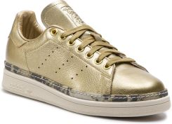 new arrival 897aa b9bcd Buty adidas - Stan Smith New Bold W F34120 Goldmt Goldmt Owhite eobuwie