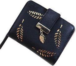 6ba12fc6d00d9 Amazon hrph nowy sposób weibliche portmonetka krótkim punktu wydrążona  złota próby arkuszy małe portfel duża pojemność