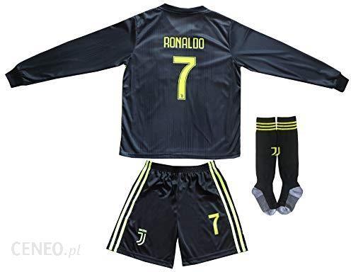 buy cheap 8a5fb e571d Amazon 2018/2019 Juventus #7 Cristiano Ronaldo dzianina outdoorowa koszulka  z długimi rękawami dziecięce spodnie i skarpety rozmiary dziecięce - ...