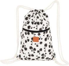060fdebe83008 Amazon ♡ T-BAGS Tajlandia bawełniany worek gimnastyczny Hipster – z zamkiem  błyskawicznym – 24