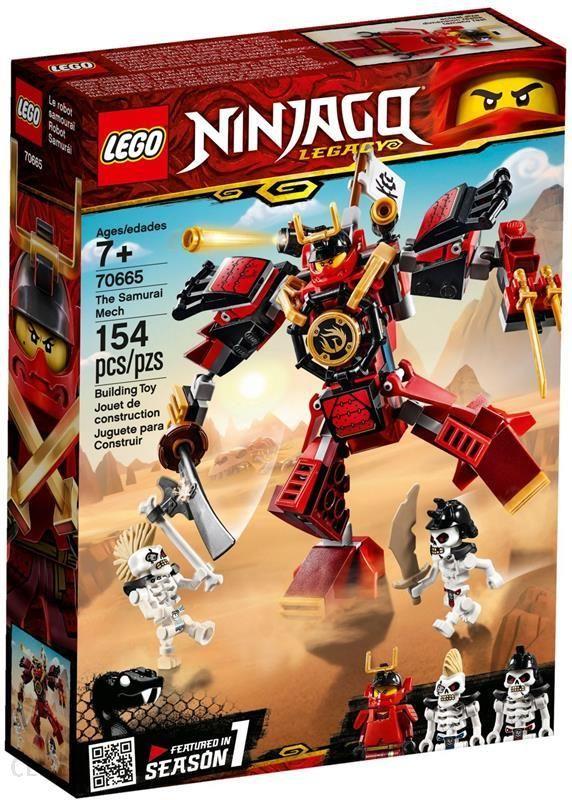 Klocki Lego Ninjago Mech Samuraj 154el 70665 Ceny I Opinie Ceneopl