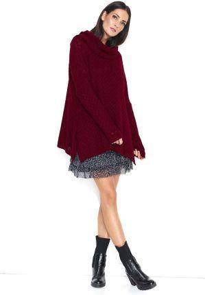 25553f1c75cfbb Envy Me EM602 Uroczy luźny sweter z kokardką - Ceny i opinie - Ceneo.pl