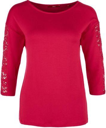 6038166e7cb31e S.Oliver T-shirt damski 34 czerwony - Ceny i opinie - Ceneo.pl